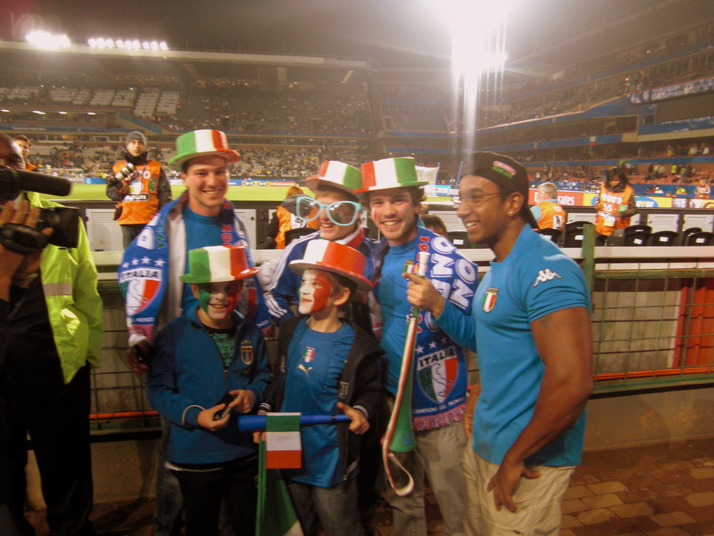 Some italian supporters