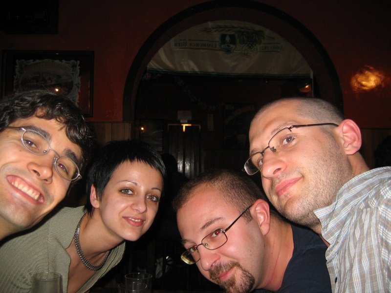 Mera, Franceschina, Davide and me
