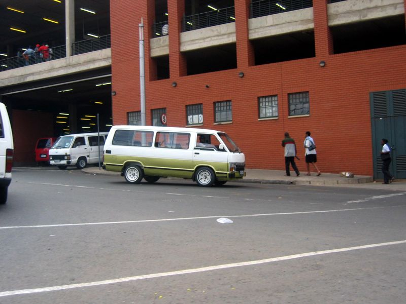 The taxi depot. My heroes
