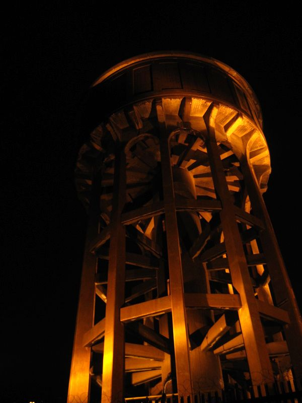 The water tower, at the top of Johannesburg