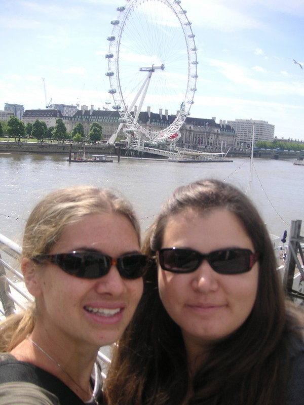 Another view of the London Eye