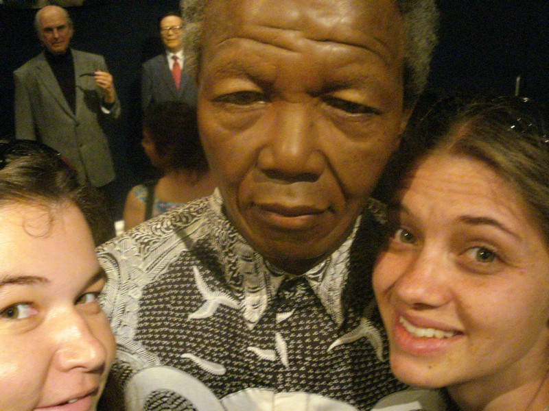 Mandela and two fellow South Africans