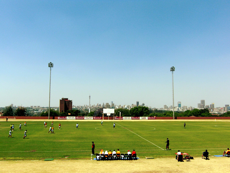 View from the UJ stadium stands